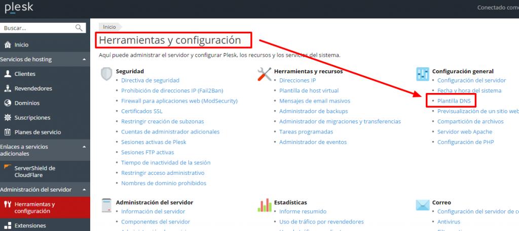 Configuración DNS personalizadas en VPS o Cloud