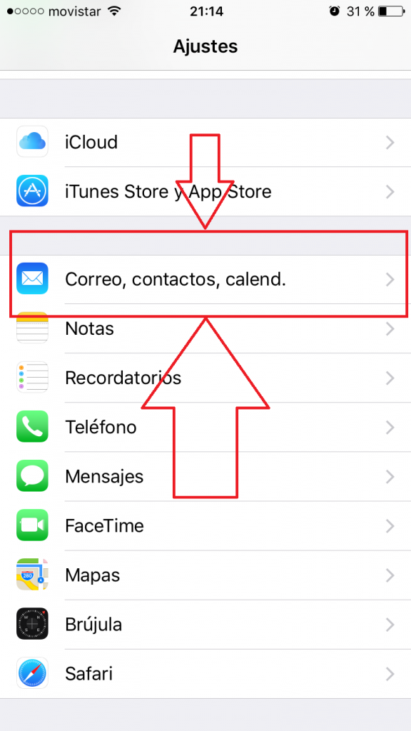¿Cómo configurar un correo en Iphone iOS?