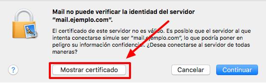 Alerta Certificado