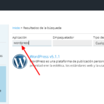 Instalar wordpress panel plesk 3