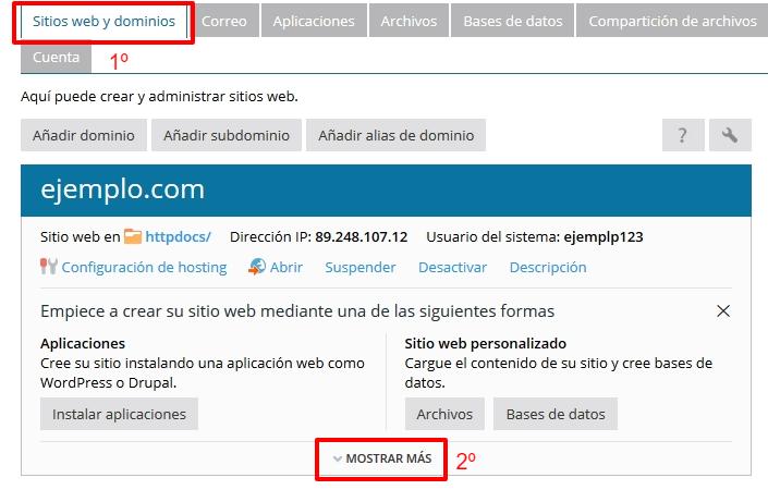 ¿Cómo configurar una zona DNS en Plesk?