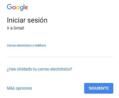 Acceso gmail