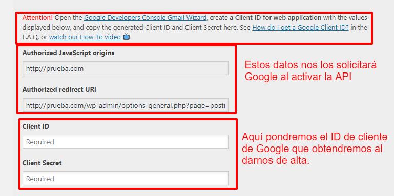 Usar correo desde WordPress con gmail 8
