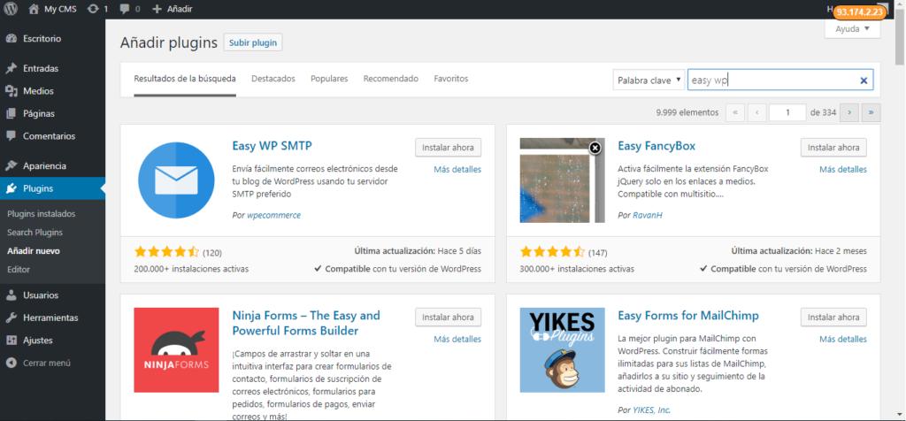 Configurar SMTP en WordPress con Easy WP SMTP