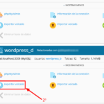 Cambiar WordPress de dominio