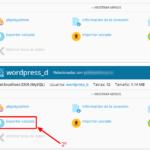 Cambiar WordPress de dominio