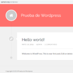 Cambiar WordPress de directorio
